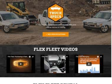 Truck Rental- Wordpress