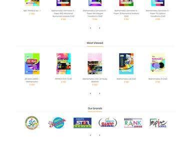 Online Books Store- Opencart