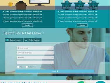 LMS Website - PHP framework