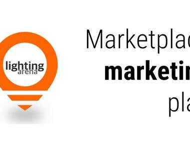 Full digital marketing plan for marketplace