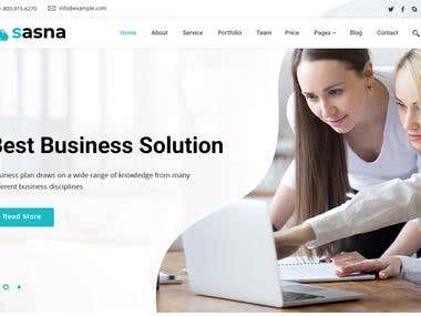 Asana Themeforest Based PSD Design