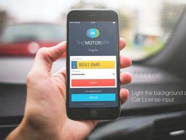 The Motor App Design