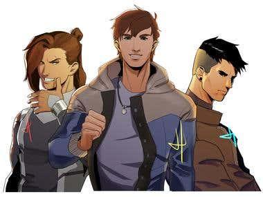 Comic Characters