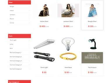 Complete Ecommerce Wordpress Website user friendly too