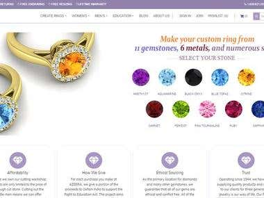 Online Shop for Jewelry