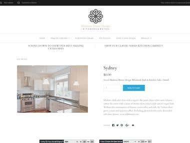 Shopify page edit