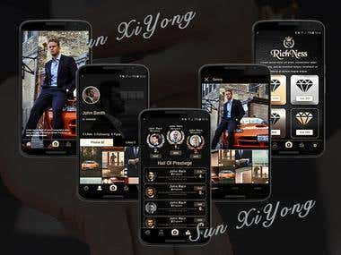 RichNess Social App