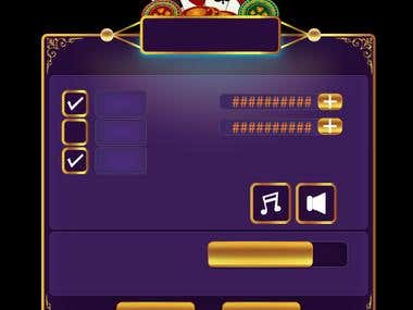 Casino Kings game UI