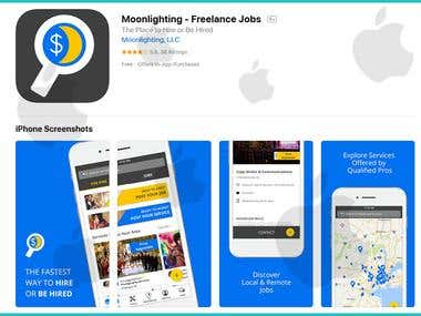 Job Finds iOS App