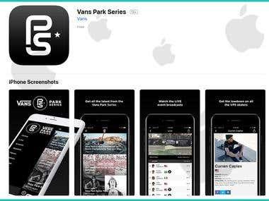 Park Series iOS App