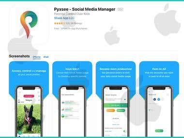 Social Media Manager iOS App