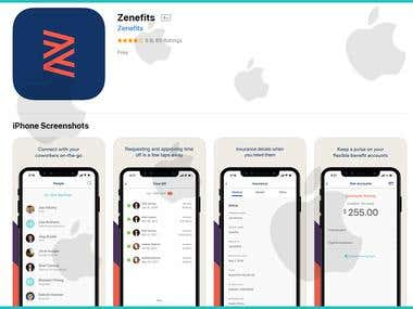 Zenifits iOS App