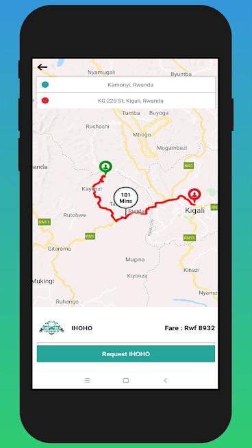 ihoho2 Taxi app