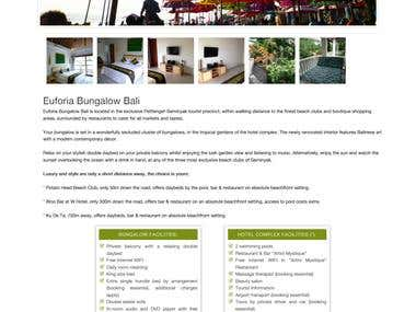 Euforia Bali Bungalow
