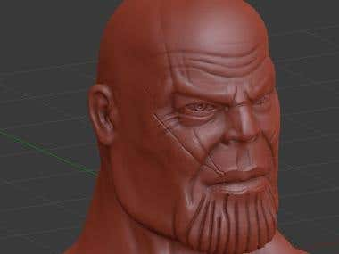 Sculpting by blender