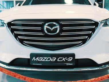 Video for Grand Diamond and Mazda.