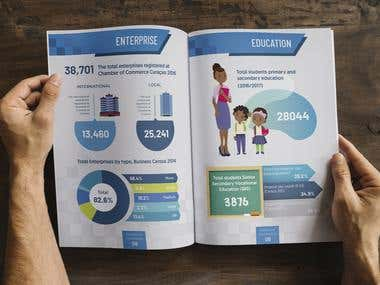 White paper with infographics