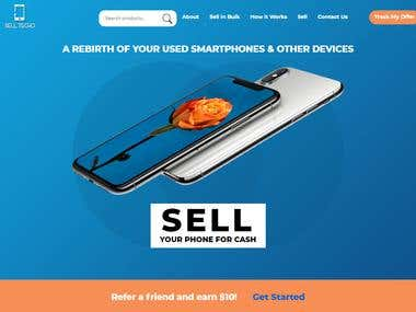 Online phone selling website