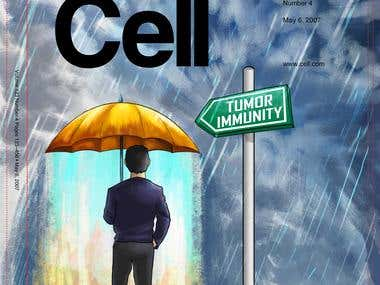 Cancer Cell Cover poster
