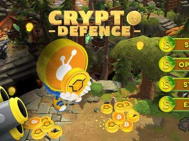 Unity 3D - CryptoDefence Game