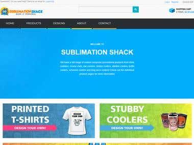 SUBLIMATION SHACK
