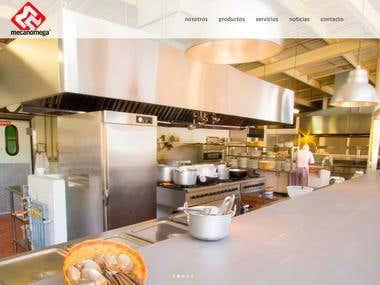 Diseño web Mecanomega // Web Design Mecanomega
