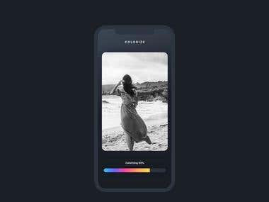 UI/UX Design for Mobile App