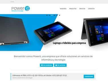 Diseño Web PowerIT // Web Design PowerIT