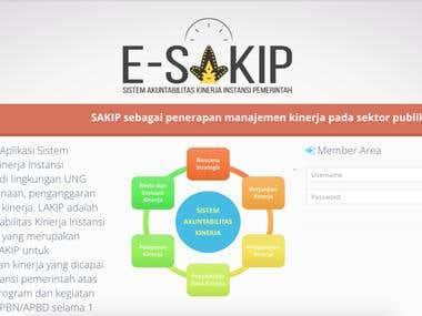 ESAKIP for Gorontalo State University
