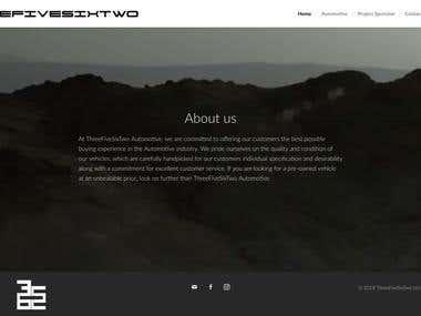 Automotive Website