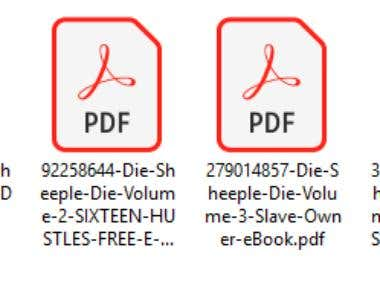 Downloading Four Paid Books From Scribe