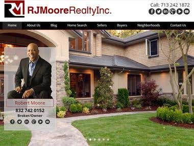 Wordpress Avada theme http://rjmoorerealty.com/