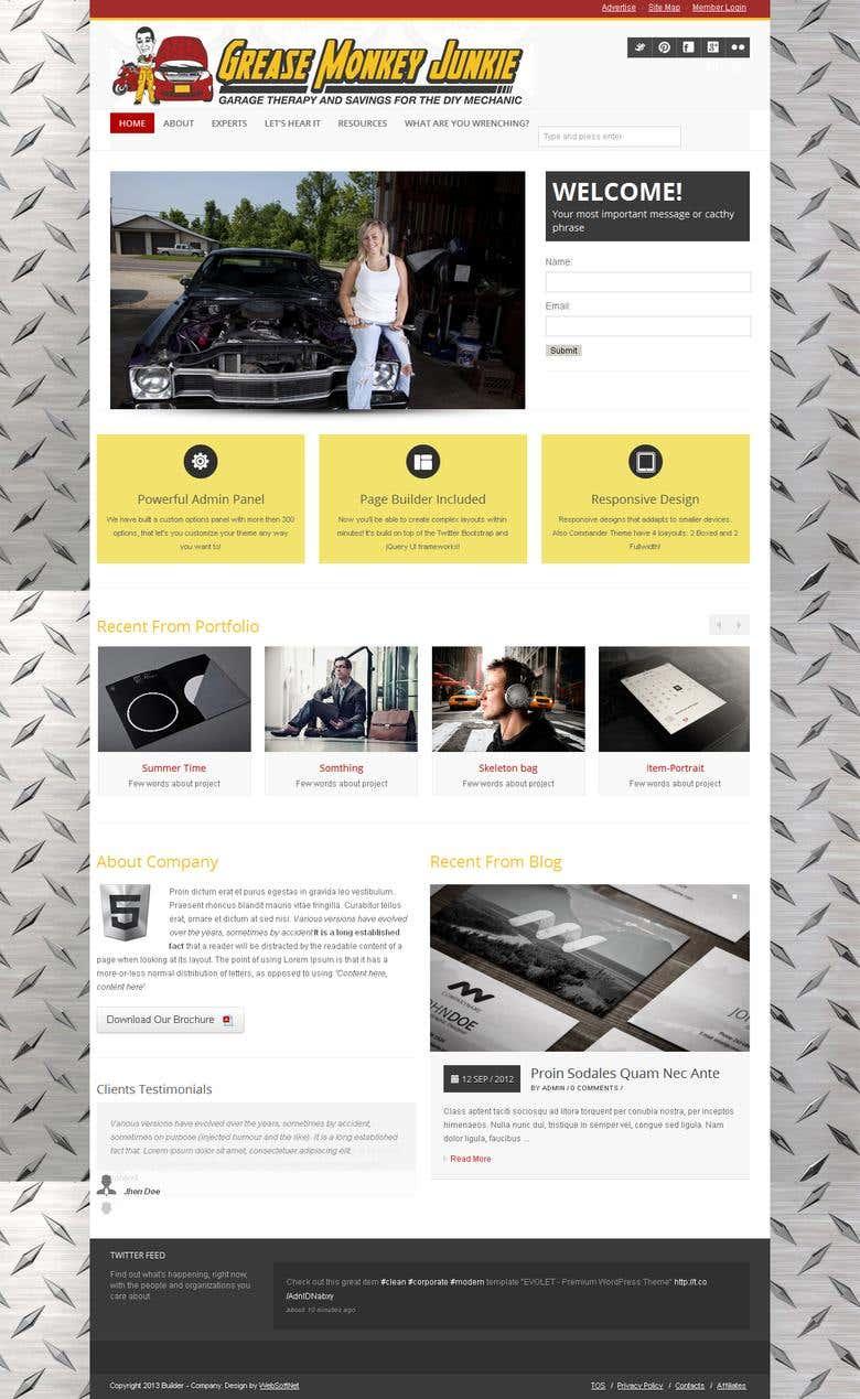 WordPress & custome coded website   Freelancer