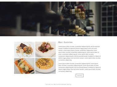 Coming Soon - Restaurant Website