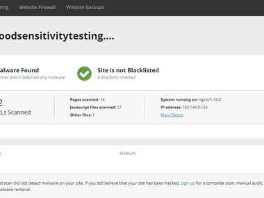 Malware and Blacklist Removal