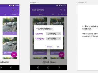 Live Webcam Android App