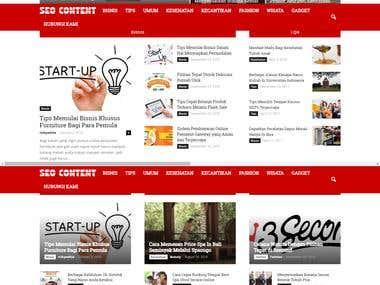 Seo content website