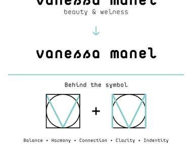 Logo fo Vanessa Manel Beauty & Wellness