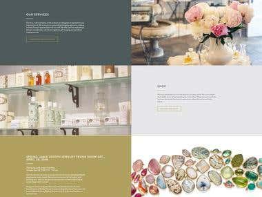 CMS Opencart. Beauty Shop