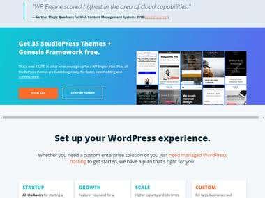 Wpengine website