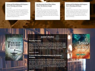 Jamieharvill Website