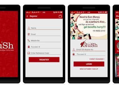 Blush Android App
