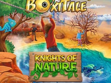 «Boxitale. Adventure». Graphic design