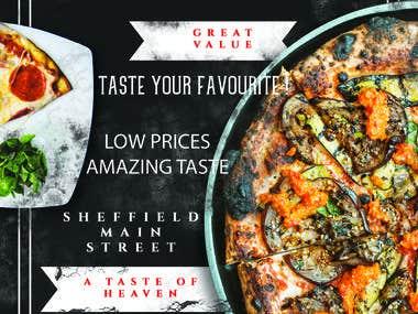 Pizza Leaflet