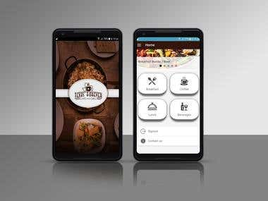 Restaurant Ordering application developed for Client in USA