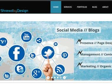 Shrewd by Design - Social Media // Blogs