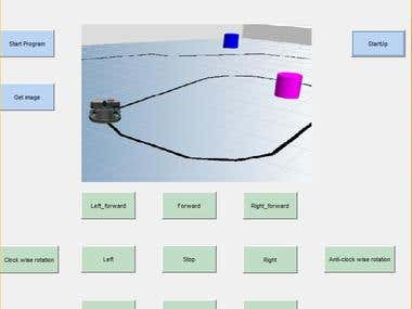 Integrate Robot movement control with Matlab
