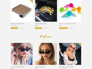 WP Online store developer