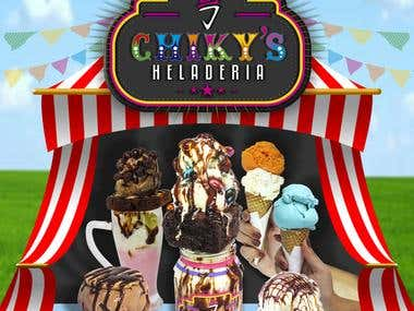 CHIKYS HELADERIA - MENU