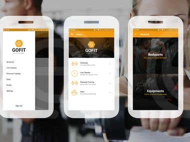 GoFit Fitness App